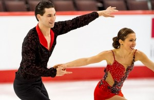 Vanessa Grenier and Maxime Deschamps