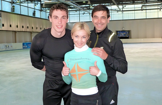 Aljona Savchenko and Bruno Massot