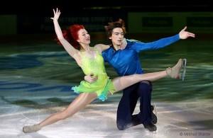 Tiffany Zahorski and Jonathan Guerreiro