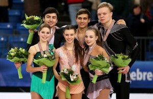 2016 World Junior Pairs Podium