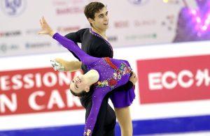 Anna Duskova and Martin Bidar