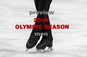 2018 Olympic Season: Men's Figure Skating Preview