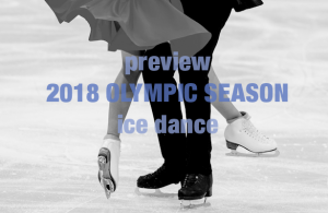 2018 Olympic Season: Ice Dance