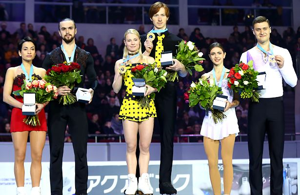 Tarasova and Morozov capture pairs title in Saint Petersburg