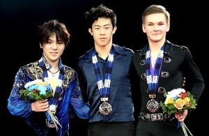 2017-18 Grand Prix Final of Figure Skating - Men's Podium