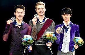 2017-18 Junior Grand Prix Final of Figure Skating - Men's Podium