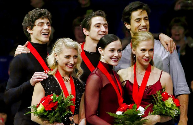 Revamped free dance earns Virtue and Moir eighth national title