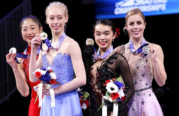 ME figure skater captures national title