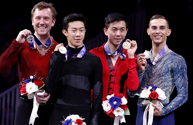 2018 U.S. National Mens Podium
