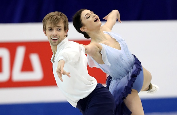 Hawayek and Baker take Four Continents ice dance title