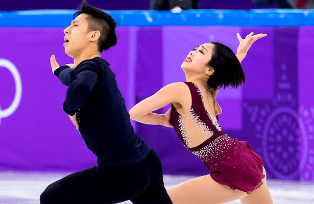 Sui and Han grab lead in Pairs figure skating at 2018 Olympics