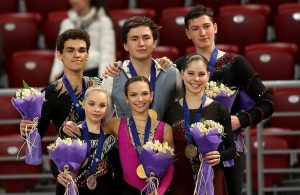 2018 World Junior Figure Skating Championships: Pairs Podium