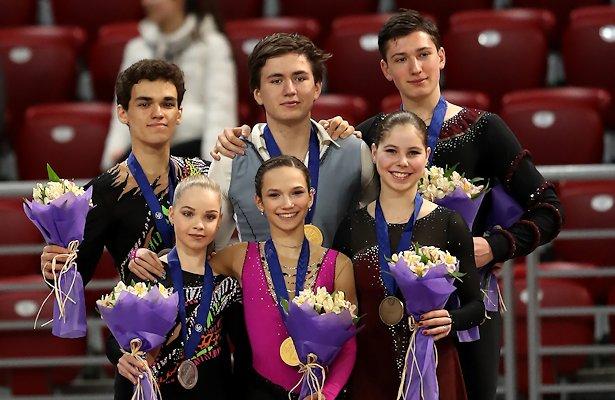 2018 World Junior Figure Skating Championships: Pairs Podium