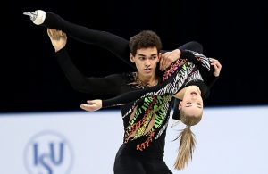 Polina Kostiukovich and Dmitrii Ialin