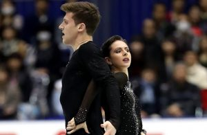 Natalia Zabiiako and Alexander Enbert