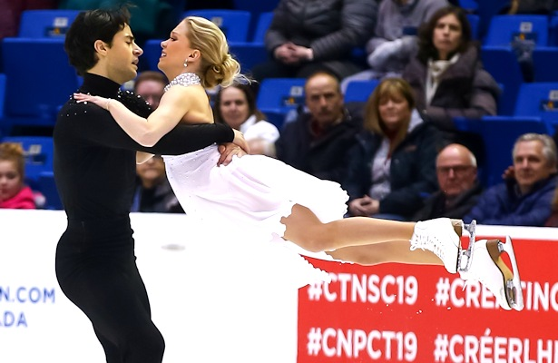 Kaitlyn Weaver and Andrew Poje