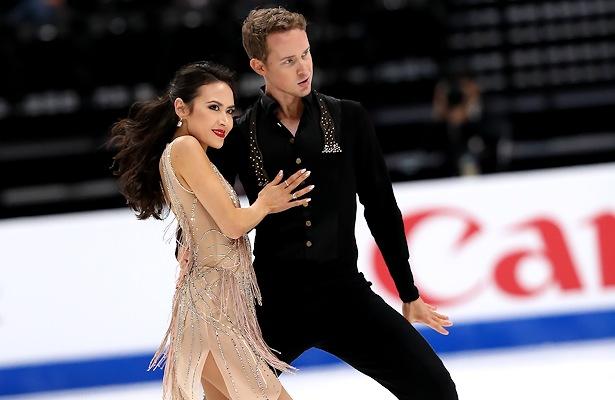 Madison Chock and Evan Bates